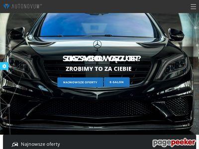 Autonovum.pl - auta używane Szczecin.