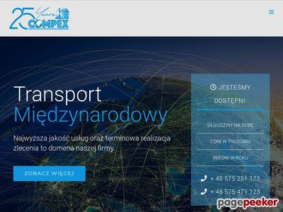 Transport krajowy Kraków - Compex