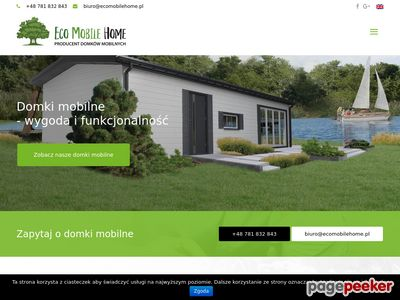 Mobilne domy- Eco Mobile Home sp. z o.o.
