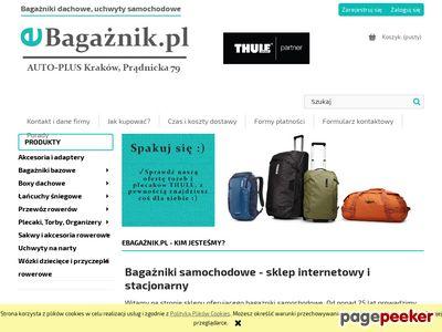 Bagażniki dachowe, łańcuchy na koła eBagaznik.pl